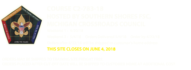 Southern Shores FSC - Michigan Crossroads Council - C2-783-18